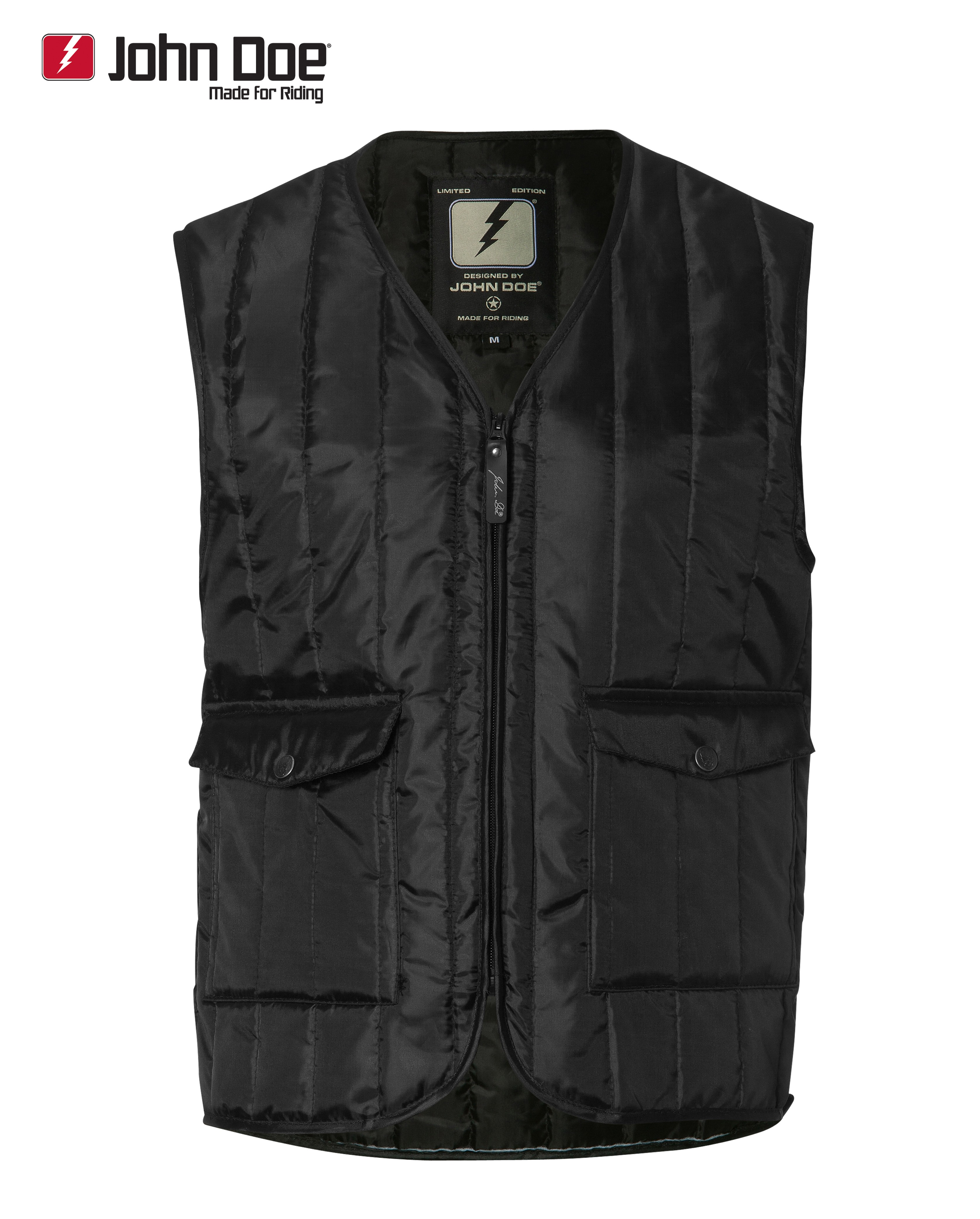john doe basic vest hoodies jacken freizeitbekleidung. Black Bedroom Furniture Sets. Home Design Ideas